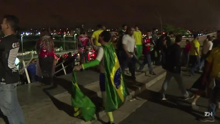 Brasil garante vaga na Rússia