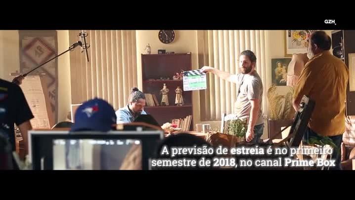 """Veja os bastidores da série \""""Liberto\"""", produção gaúcha de terror"""