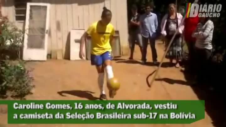 Gaúcha é campeã sul-americana de futebol feminino