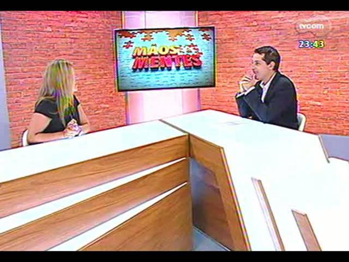 Mãos e Mentes - Gerente da Lee Hecht Harrison/DBM, unidade Porto Alegre, Rose Russowski - Bloco 2 - 20/02/2013
