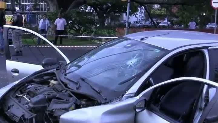 Testemunhas relatam o acidente na Avenida Ipiranga