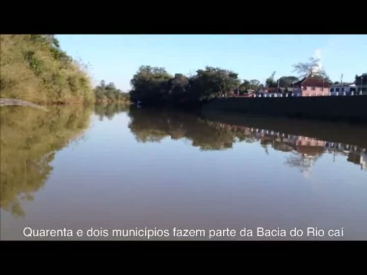 Rios Poluídos: 90% dos municípios da Bacia do Caí não têm tratamento de esgoto. 02/07/2013