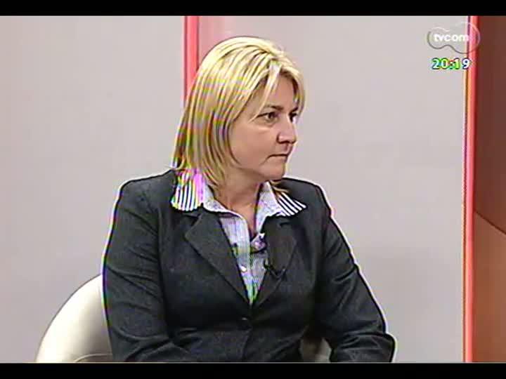 TVCOM 20 Horas - Análise da greve: entrevista com o presidente da Força Sindical do RS, Cláudio Janta - Bloco 2 - 11/07/2013