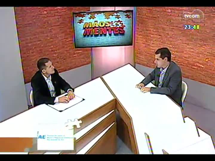 Mãos e Mentes - Diretor da H2Horta, Rocardo Rotta - Bloco 2 - 16/07/2013