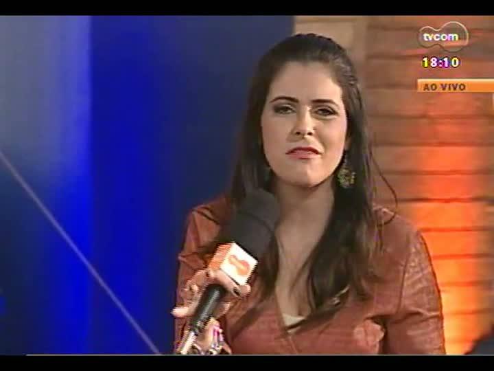 Tertúlia - Lúcia Guaspary fala sobre a moda exclusiva em lã mostrada na Expointer - bloco 3 - 28/08/2013