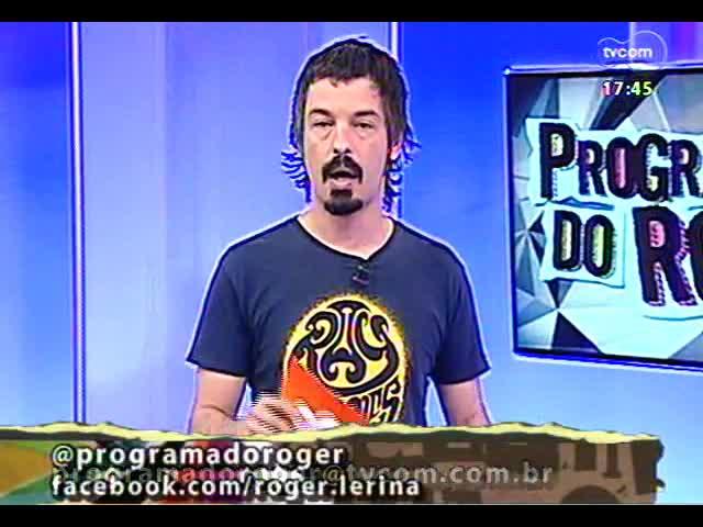 Programa do Roger - James Lima, vocalista do Seu Cuca, fala de show em Porto Alegre - bloco 1 - 12/09/2013