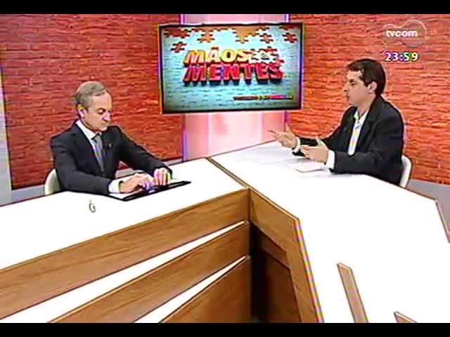 Mãos e Mentes - Sócio da Consultora PwC Brasil, Carlos Biedermann - Bloco 4 - 25/09/2013