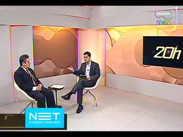 TVCOM 20 Horas - Entrevista com Chefe de polícia do RS, delegado Ranolfo Vieira Júnior - Bloco 3 - 11/10/2013