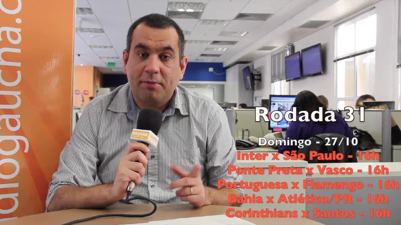 Pré-Rodada. 25/10/2013