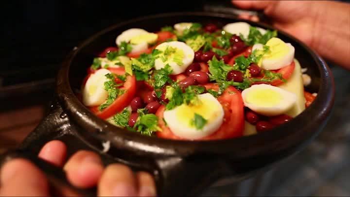 """Gastronomia - Receita \""""Bacalhau da Ilha\"""" feita no Bar do Arante em Florianópolis"""