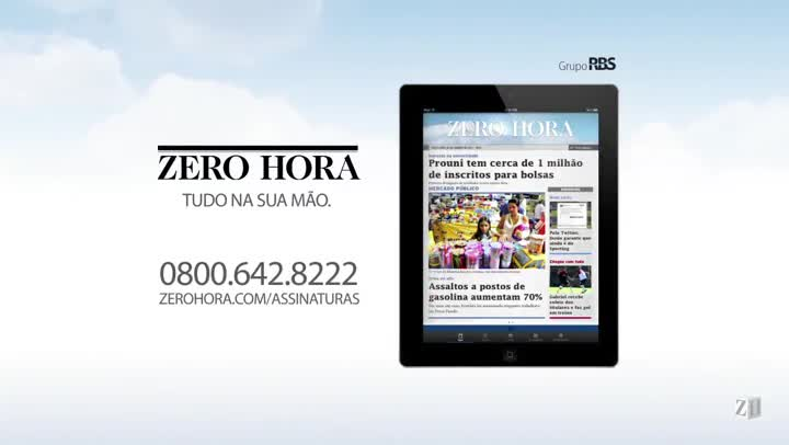 Leia na Zero Hora desta sexta-feira (08/11/2013)