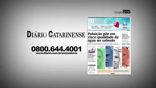 Chamadas Diário Catarinense 15 de novembro de 2013