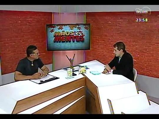 Mãos e Mentes - Paratleta Carlos Alerto Oliveira - Carlão - Bloco 4 - 16/04/2014