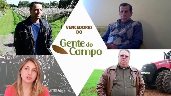 Vencedores do Gente do Campo