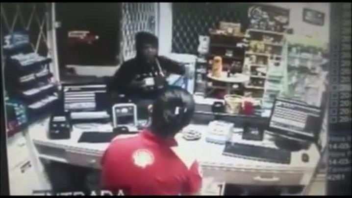 Assaltante é morto ao tentar roubar posto de combustível
