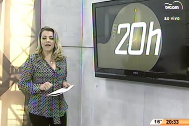 TVCOM 20 Horas - Infraestrutura na Serra Catarinense é desafio para o turismo no inverno - 24.06.15