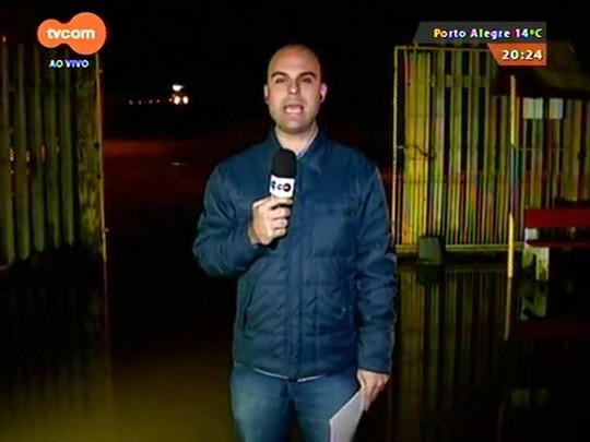 TVCOM 20 Horas - Prefeitura da capital se mobiliza para garantir abrigo e suprimento para famílias atingidas pelas chuvas - 21/07/2015