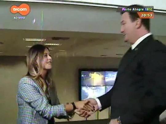 TVCOM 20 Horas - Instituto Geral de Perícias tem quadro de pessoas reduzido em 10% somente em 2015 - 30/09/2015