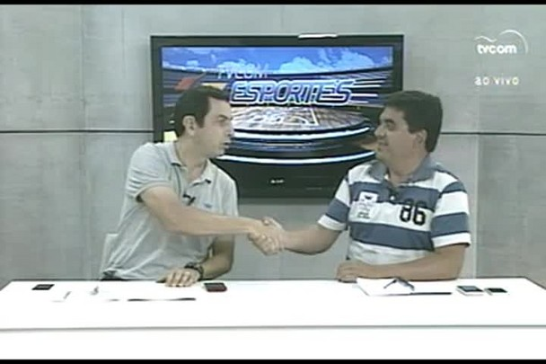 TVCOM Esportes. 1º Bloco. 07.01.16