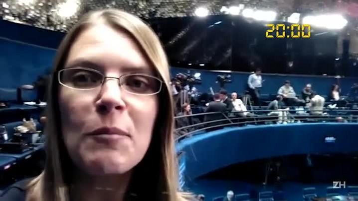 Vídeo da Hora: Juliana Bublitz comenta o andamento da sessão do impeachment