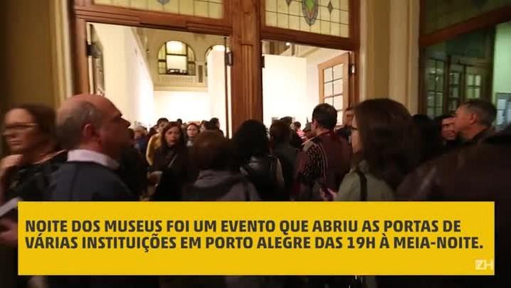 Noite dos Museus atrai grande público em Porto Alegre