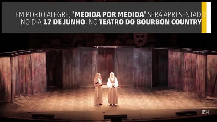 Duas peças de Shakespeare com Thiago Lacerda chegam ao Rio Grande do Sul