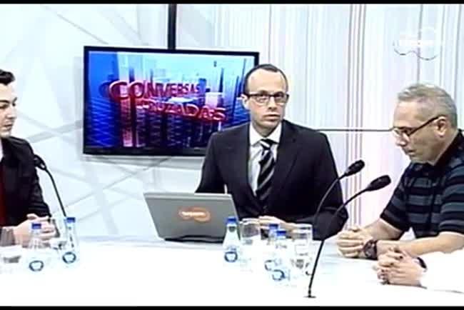 TVCOM Conversas Cruzadas. 3º Bloco. 25.08.16