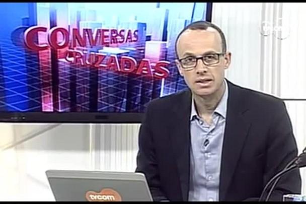 TVCOM Conversas Cruzadas. 3º Bloco. 07.10.16