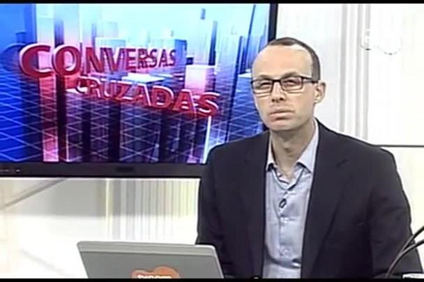 TVCOM Conversas Cruzadas. 4º Bloco. 07.10.16