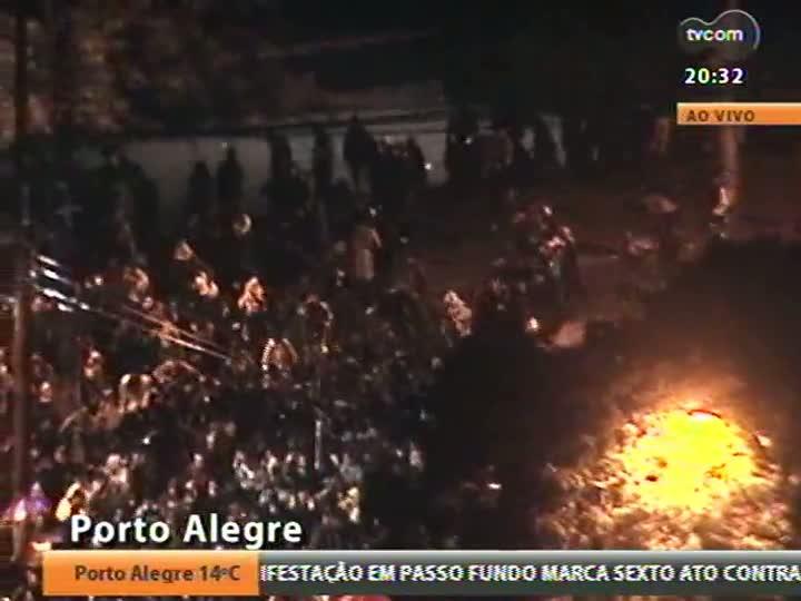 Cobertura especial das manifestações em Porto Alegre - Confira imagens e as últimas informações - 20/06/2013