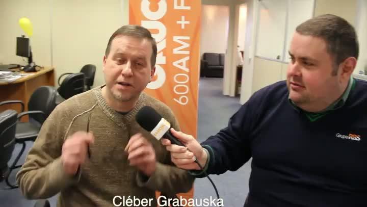 Cléber Grabauska fala sobre sua troca de funções na rádio. 27/08/2013