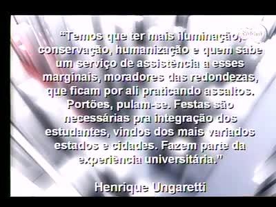 Conversas Cruzadas – Segurança na UFSC - 4º Bloco – 05/09/2013