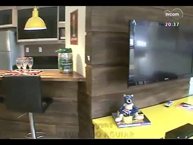 Tudo+ Casa: conheça um apartamento prático e espaçoso, ideal para fazer um churrasco junto aos amigos