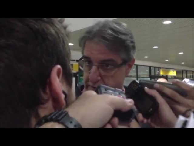 Souto de Moura explica o silêncio dos jogadores colorados após derrota - 20/09/2013