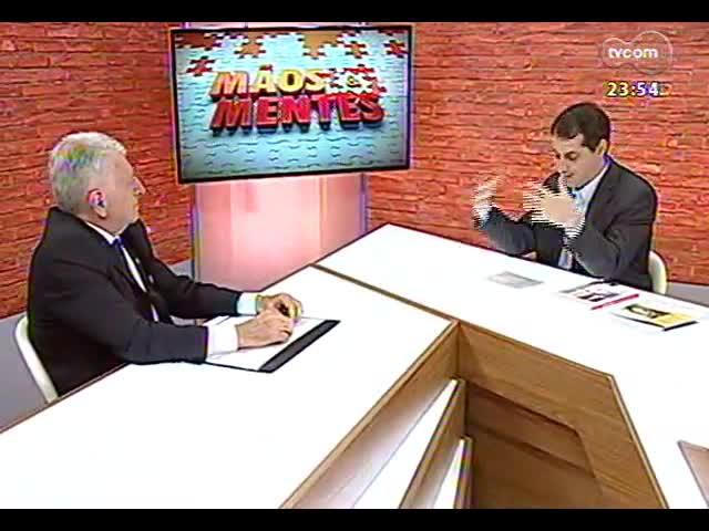 Mãos e Mentes - Geraldo Castelli, economista e diretor da Escola de Hotelaria Castelli - Bloco 3 - 04/10/2013