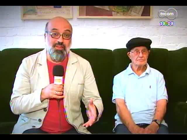 Programa do Roger - Pintor Danúbio Gonçalves fala de exposição - bloco 3 - 09/10/2013