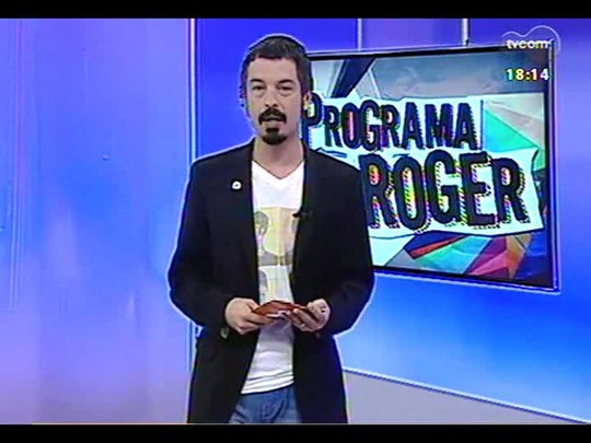 Programa do Roger - Lojinha do Roger: \'Need for Speed\', \'Justin e a Espeda da Coragem\' + Joca Martins e banda- Bloco 3 - 20/03/2014