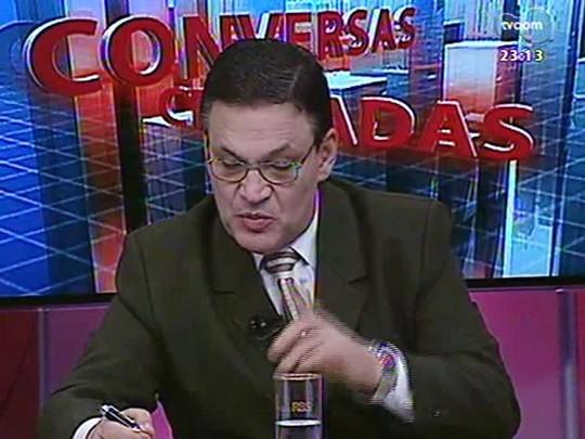 Conversas Cruzadas - Uso de tornozeleiras eletrônicas em presos do regime semiaberto - Bloco 4 - 24/07/2014