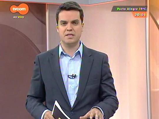 TVCOM 20 Horas - Hospital Cristo Redentor suspende visitas por 48 horas depois que paciente foi assassinado dentro de um dos quartos - Bloco 1 - 13/10/2014