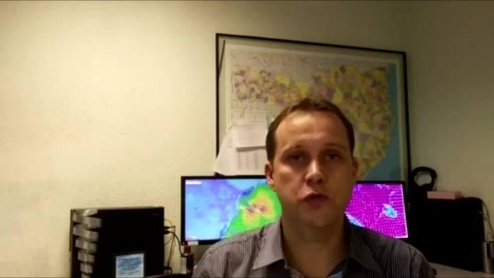 Leandro Puchalski explica fenômeno que causou chuva na Grande Florianópolis