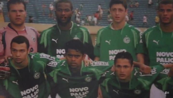 Chiquinho, camisa 9 da Seleção Brasileira Cristã