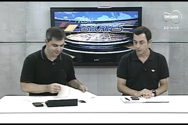TVCOM Esportes. 1º Bloco. 08.04.16