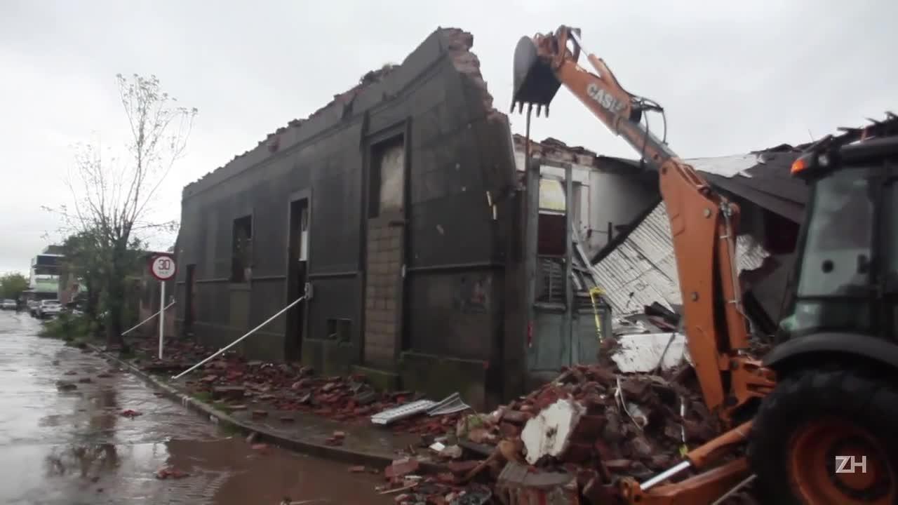 O dia seguinte ao tornado