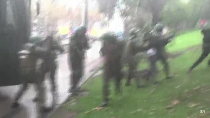 Mais de 100 estudantes presos após protesto no Chile