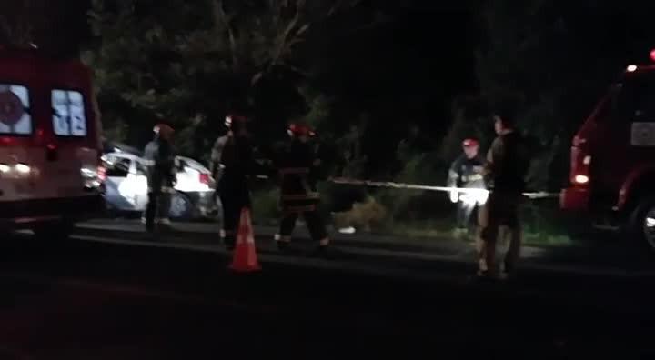 Acidente deixa sete feridos em Santa Maria
