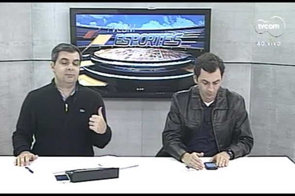 TVCOM Esportes 4º Bloco. 24.08.16
