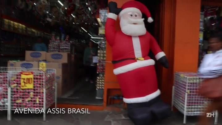 Clima de Natal está chegando em Porto Alegre