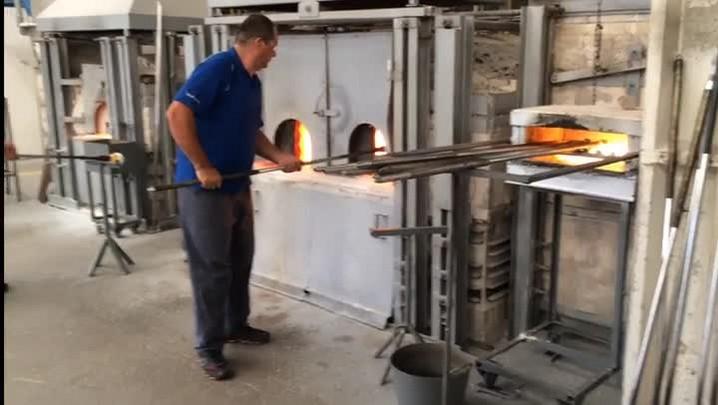 A arte de manipular o vidro