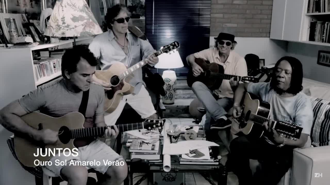 """Confira \""""Ouro Sol amarelo verão\"""", nova música do projeto Juntos"""