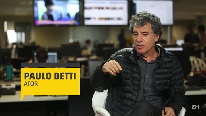 Paulo Betti fala sobre monólogo, novo filme e a situação da cultura no Brasil